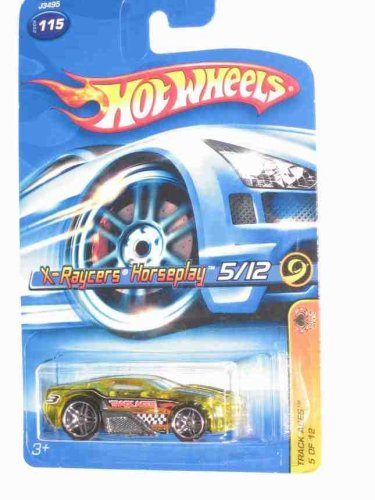 Track Aces #5 X-Raycers Horseplay #2006-115 Collectible Collector Car Mattel Hot Wheels - 1