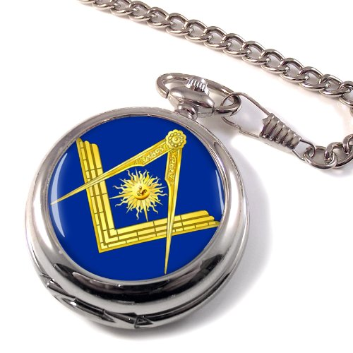 Masonic Lodge Senior Deacon Full Hunter Pocket Watch