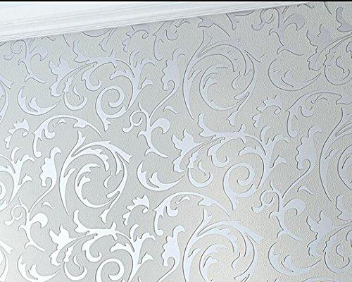 Anjz@Moderne Luxus Abstrakte Kurve 3d Tapete Rolle Beflockung für Striped/Size?10m (32,8 ft ...