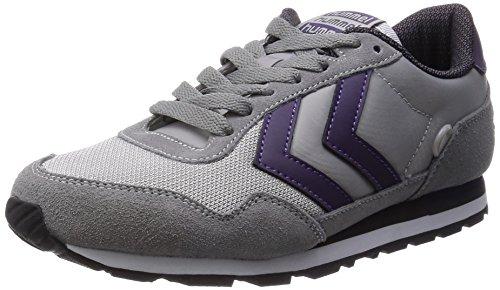 Hummel HUMMEL REFLEX LO, Low-Top Sneaker Unisex - adulto, Grigio (Grigio (Dove 1018)), 38