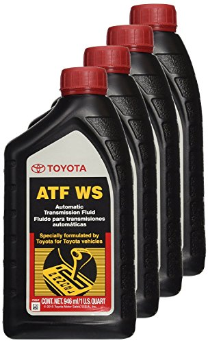 Genuine Toyota Lexus Automatic Transmission Fluid 1QT WS ATF World Standard (4 Pack) (Genuine Toyota compare prices)