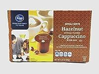 Kroger Single Serve Hazelnut Cappuccino Drink Mix, 6.35 Oz, 12 Cups