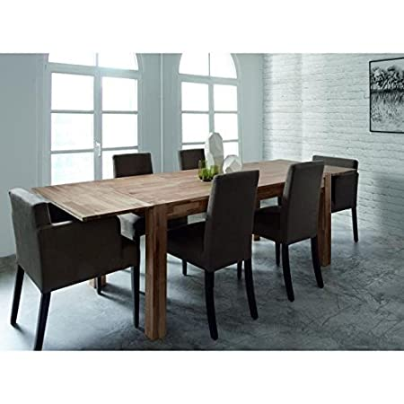 MILES table extensible chene massif 150/230cm