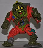 Vintage Muckman (With Trashcan Backpack & Banana Peel Head Piece) (1990) - Action Figure - Playmates - TMNT - Teenage Mutant Ninja Turtles Collectible Figure - Loose Out of Package & Print (OOP)