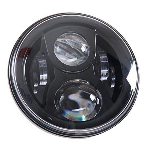 lampadina-7-nascosto-led-faro-led-per-harley-davidson-proiettore-daymaker-fari-nero