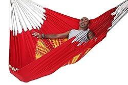 Flying Carpet Original Hammock Batik Red