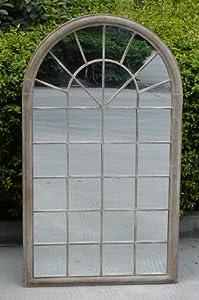 Bentley Garden Arch Outdoor Wall Decorative Mirror - Natural from Bentley Garden