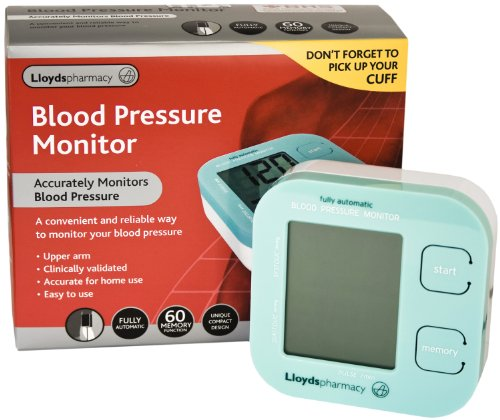 Compact Blood Pressure Monitor and Cuff