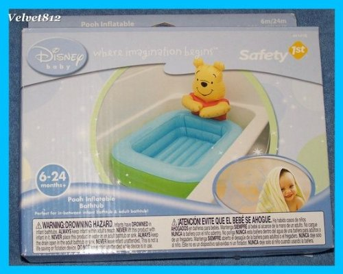 Pooh Inflatable Bathtub - 1