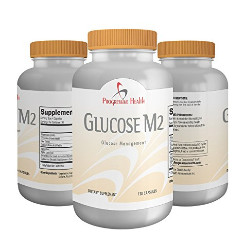 Glucose M2: Blood Sugar Multivitamin, Improved Formula To Maintain Healthy Blood Glucose Levels. Pills Include, Gymnema Sylvestre, Alpha Lipoic, Bitter Melon Extract