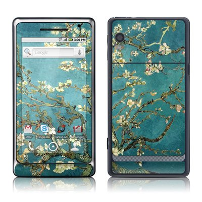 Van Gogh – Blossoming Almond Tree Design Protective Skin Decal Sticker for Motorola Droid 2 Cell Phone