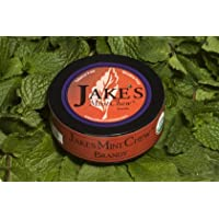 Jake's Mint Chew - Brandy - Tobacco & Nicotine Free - 10 Can Pack