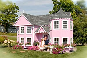 Victorian Mansion Kids Outdoor Playhouse (10 ft. x 18 ft. No Floor)