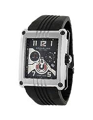 Stuhrling Original Men's 269.332D613 Madman L.E. Swiss Chrono Black Dial Watch