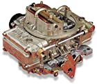 Holley 0-80551 Model 4160 Marine 600 CFM 4-Barrel Vacuum Secondary Electric-Choke Carburetor