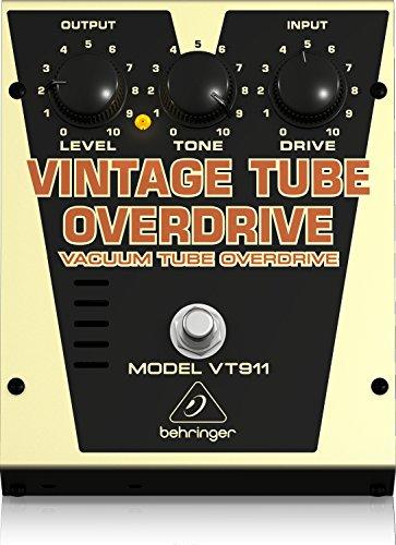 Behringer VT911 Classic Vacuum Tube Overdrive