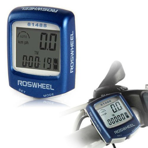 Bike Bicycle Mtb Cycling Lcd Wired Computer Odometer Speedometer Waterproof New front-472714