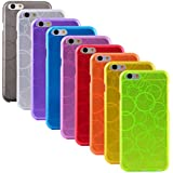 "The Friendly Swede Basics Bubble Design TPU Gel Cases for iPhone 6 (4.7"") (9-pack)"