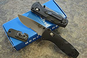 Benchmade 5Mini-Barrage AXIS -Assisted Satin Plain
