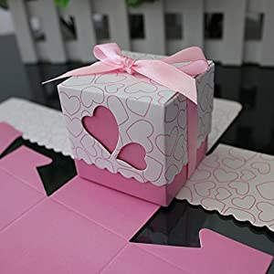 Wedding Gift Boxes Amazon : ... Wedding Favor Boxes Souvenir Candy Box Baby Shower Gift Box Chocolate