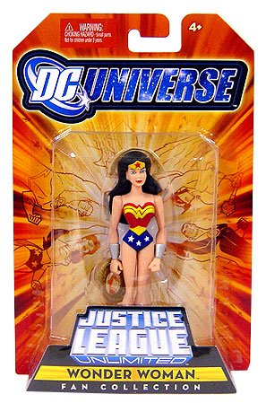Picture of Mattel DC Universe Justice League Unlimited Fan Collection Action Figure Wonder Woman (B001MJJS6A) (Mattel Action Figures)