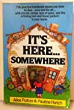 It's Here...Somewhere (0898791863) by Alice Fulton