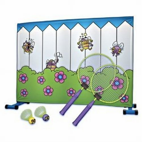 Buzzy Badminton Tennis Fly Swattin Game In or Out by Giant Tree House bestellen