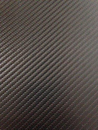 3D Textured Black Carbon Fibre Vinyl Car Wrap 1520mm x 700mm