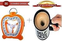 Multifunctional Fan Lamp With Self Stirring Mug - JYMUG03