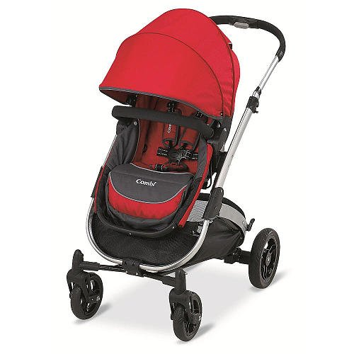 Combi Catalyst Dx Stroller Red front-865417