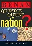 Qu'est-ce qu'une nation ? (La Petite...