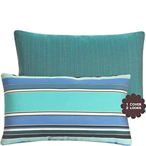 Amazon.com - Malibu Cove Sunbrella Outdoor Pillow Collection