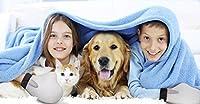 Pet Prime Dog & Cat Grooming Glove Brush - Deshedding & Massaging Tool For Long & Short Hair Pets