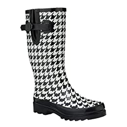 Xhilaration Zetta Rainboots - Houndstooth : Target from target.com
