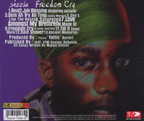 Freedom Cry Album Sizzla Freedom Cry