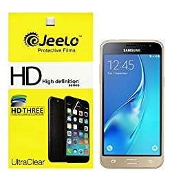 Jeelo HD Clear Screen Guard for Samsung Galaxy J3 - Pack of 2
