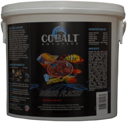 Cobalt Aquatics Color Flakes, 2-Pound