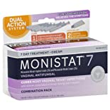 Monistat 7 Vaginal Antifungal Combination Pack