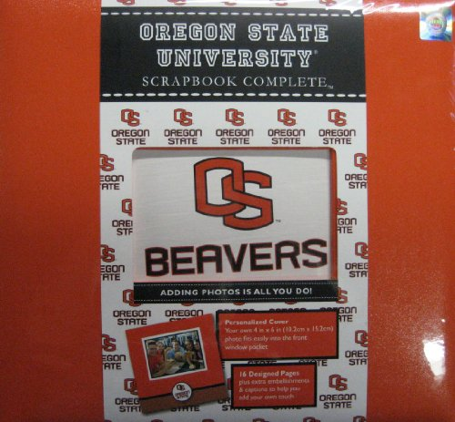 OSU Oregon State University Beavers Scrapbook