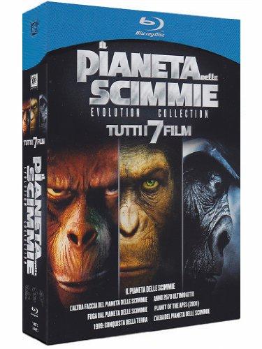 Il pianeta delle scimmie - Evolution collection [Blu-ray] [IT Import]