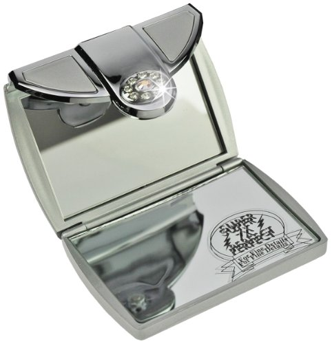 Poche grossissant cm for Miroir contour argent