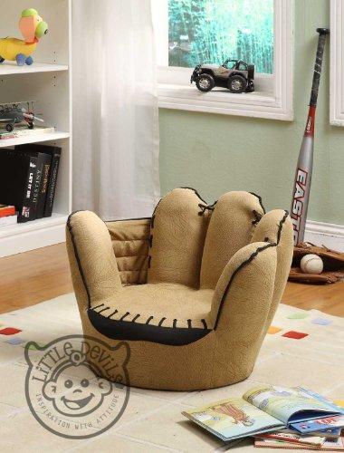 LITTLE CATCHERS MITT KIDS CHAIR sport theme / games chair armchair childrens playroom