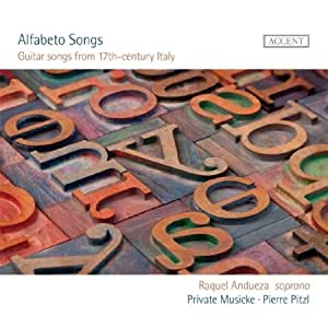 ALFABETO SONGS - Guitar Songs From 17Th-Century Italy - Amazon.com