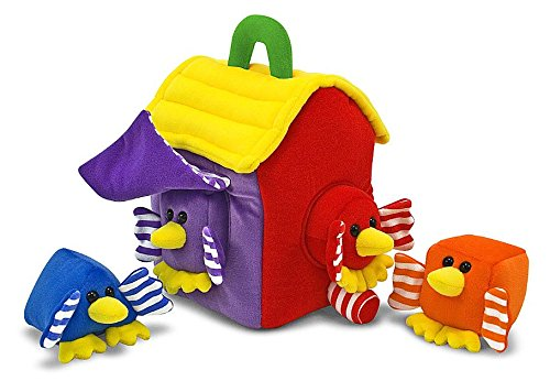 Melissa & Doug Bird House Shape Sorter - 1
