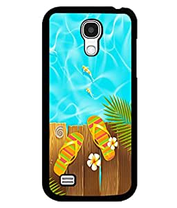 printtech Poolside Slippers Back Case Cover for Samsung Galaxy S4 Mini::Samsung Galaxy S4 Mini i9190