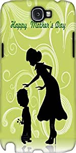 Snoogg Illustration For Happy Mothers Day Designer Protective Back Case Cover...