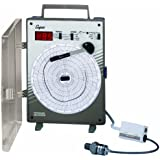 "Supco CR87P Pressure Circular Chart Recorder, 0/500 psi, 6"" Chart Diameter, 110-120V Voltage"