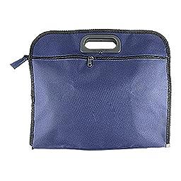 TOOGOO(R) Nylon File Folder Document Bag/Organizer/Portfolio