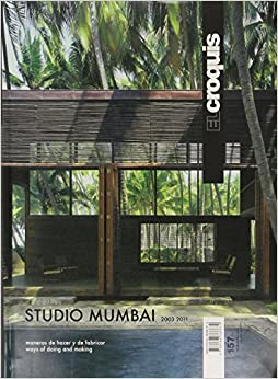 El Croquis 157 Studio Mumbai (English and Spanish Edition): Edited: 9788488386670: Amazon.com: Books