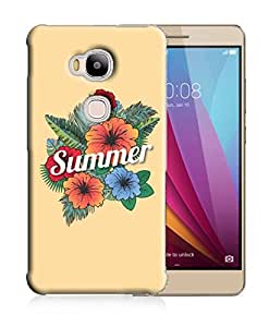PrintFunny Designer Printed Case For HuaweiHonor5X